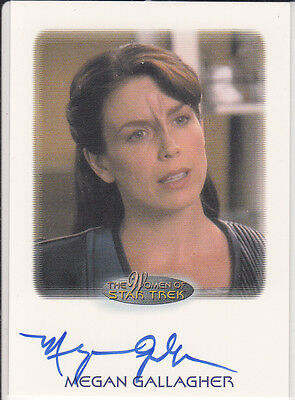 Star Trek of Women: Megan Gallagher autograph