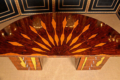 Rare French Work Desk In Art Deco Style L-Mhs-29