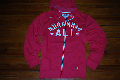 NEW Men's Under Armour Roots Of Fight Muhammad Ali Zip Hoodie (X-Large)