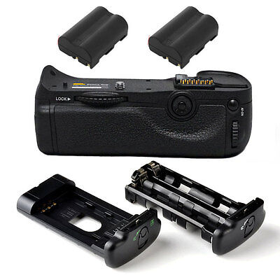 Pro Battery Grip For Nikon D300S D300 D700 +2x EN-EL3e SLR CAMERA MB-D10