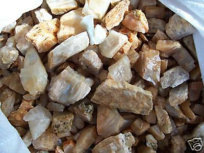 6810 Carats  Rough Moonstone Natural Mineral Lot 3Lb