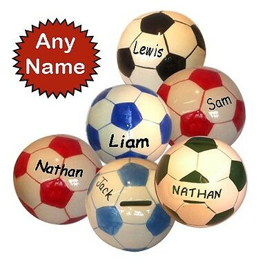 Football Personalised Money Boxes
