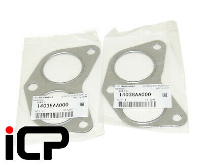Genuine Cylinder Head To Exhaust Gaskets 14038AA000 Fits Impreza Legacy Forester