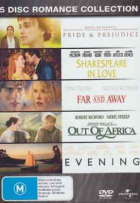 Pride and Prejudice / Shakespeare in Love /Evening / Far and Away DVD