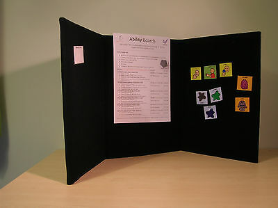 Portable Display Board - Tri-fold (A3) - for school, office, exhibition