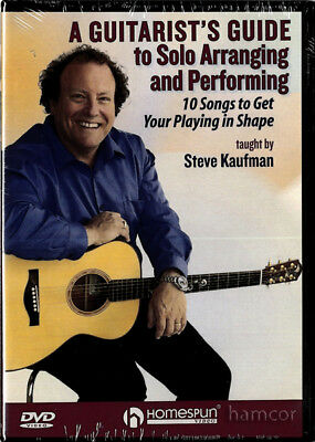 A Guitarist's Guide to Solo Arranging and Performing Steve Kaufman Guitar DVD