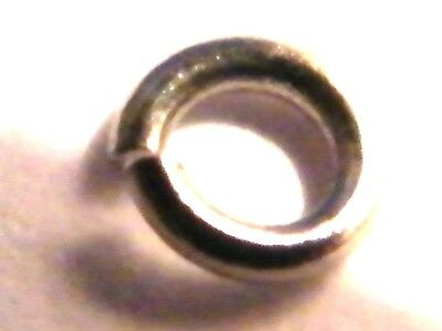 "Solid Platinum.950  4.0mm Jump Ring Heavy""Open""-Findings-Clasp-Jewellery Making"