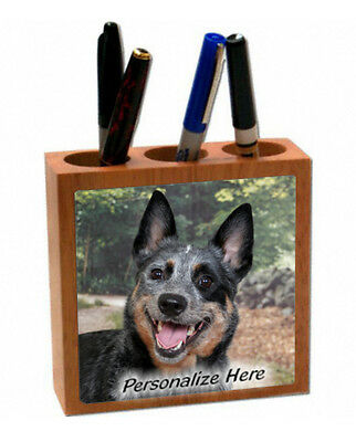 Australian Cattle Dog     ( 17 )   Personalized  Pencil and Pen Holder
