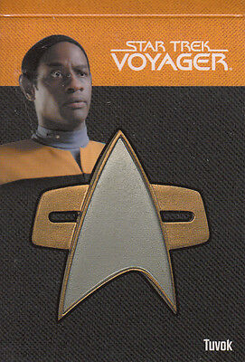 Star Trek Voyager Quotable (2012) Pin 8of9  114/225 Relic