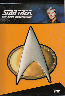 Star Trek TNG Complete (2012) Pin CP8  212/300 Relic