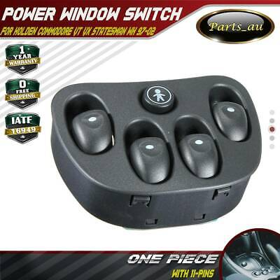 Power Master Window Switch for Holden Commodore VT VX WH Statesman