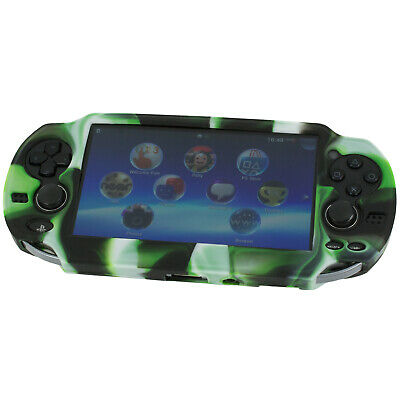 ZedLabz Pro camouflage Silicone Gel Skin Protector Cover Grip Case Sony PS Vita