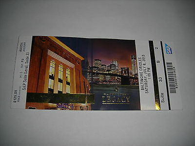 2013 Baltimore Orioles Vs Ny Yankees Used Ticket Luxury Suite Stub 7/6/13 Mlb