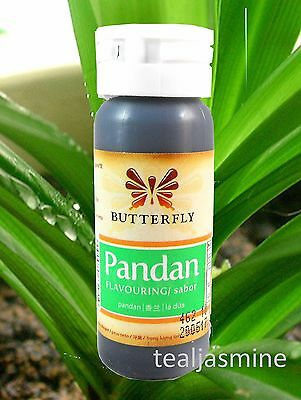 Pandan Paste Concentrated, Pandanus Extract, Screwpine 1 oz. by Butterfly