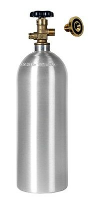 5 lb co2 Cylinder New Aluminum Draft Beer Homebrew FREE SHIPPING & LEAKSTOPPER