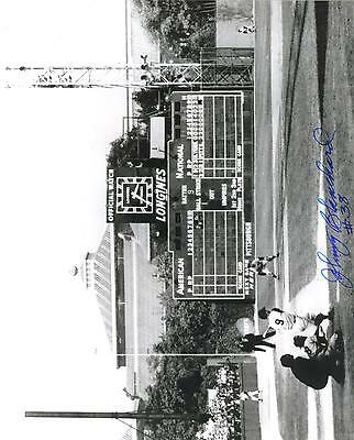 Johnny Blanchard Signed YANKEES 1960 WS 8X10 Photo / PSA DNA Quick Opinion