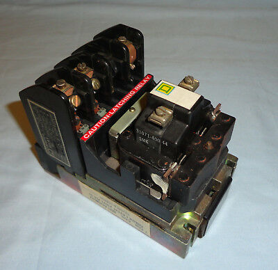 Square D 8501-HML021 Latch Master Relay 120VAC Coil 2N.O. 8501HML021