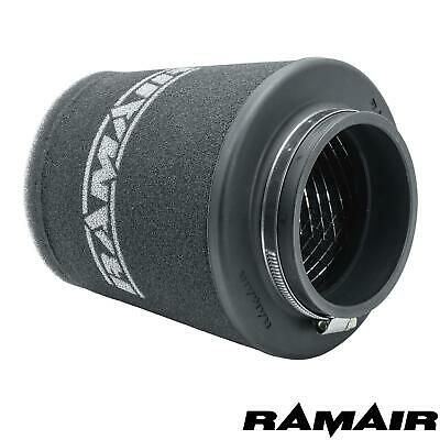 "RAMAIR UNIVERSAL 75mm/3"" NECK FOAM CONE INDUCTION HIGH FLOW AIR FILTER"