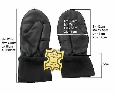 **WINTER SALE* Soft Winter Baby Kids Mitten Leather Glove S/M/L/XL *WINTER SALE*