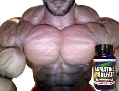 Pro Force Agmatine Sulfate MASSIVE Pump Factor Advanced Bodybuilding Supplements