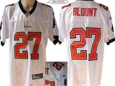 Maillot nfl Foot US américain BUCCANEERS N°27 Blount BRODE Taille -> XL (fr)