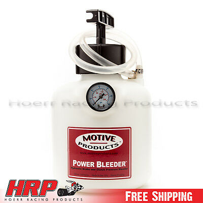 Motive Products Late Model GM Power Bleeder w/ Adapter PN: 0108