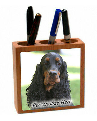 Gordon Setter    ( 17 )   Personalized  Pencil and Pen Holder