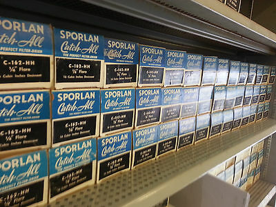 "LOT OF 40 Sporlan Catch-All filter drier C-162-HH 1/4"" Flare"
