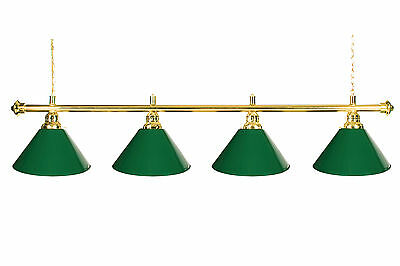 72 pool table light billiard lamp with metal green shades for 9 72 pool table light billiard lamp with metal green shades for 9 table mozeypictures Image collections