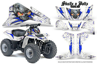 Polaris Scrambler 850 1000 Graphics Kit with Free Custom Service #1300Blue