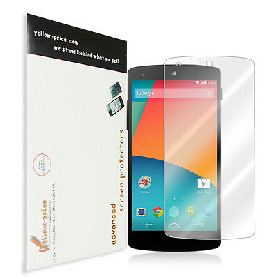 Nexus 5 HD Ultra Clear Screen Protector - NEW 2014 Google Nexus 5 Premium HD