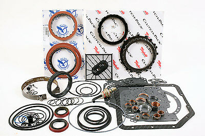Turbo 350 Transmission High Performance Rebuild Kit 69-79 Level 3 A Alto Red