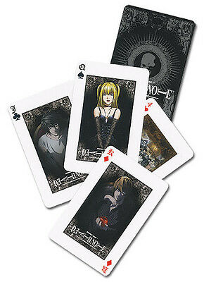 Death Note Poker Playing Cards Anime Manga Game NEW