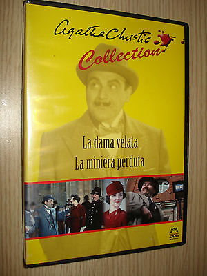 Dvd La Dama Velata La Miniera Perduta  Agatha Christie Collection
