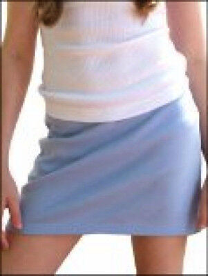 Girls 100% Cotton Tennis Skirt Skort Pink Navy Black Red Blue 7-16 SPECIAL VALUE
