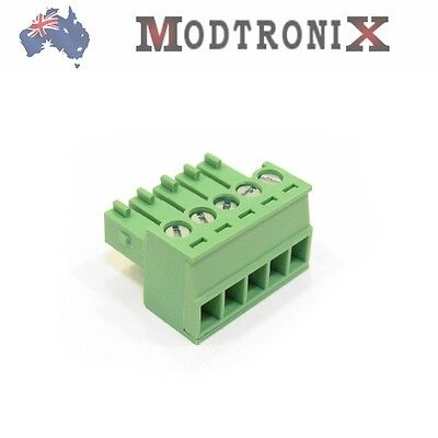 5 Way/Pin 3.5mm Terminal Block Plug, Phoenix Cmptble, SYD COMBINED Post