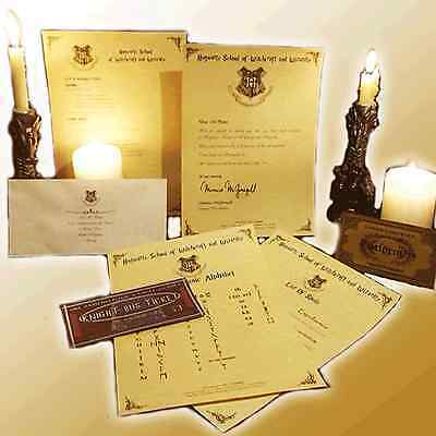 Personalised PREMIUM HOGWARTS PACKAGE - Letters, spells, and more this Christmas