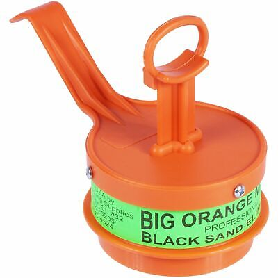 Big Orange Magnet Professional Black Sand Eliminator works Wet or Dry