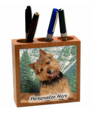 Norwich Terrier   ( 13 )   Personalized  Pencil and Pen Holder