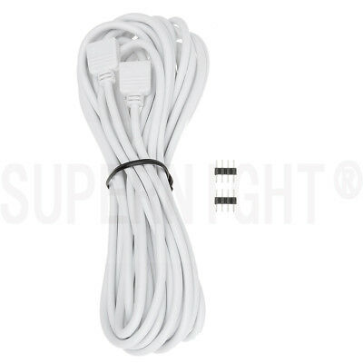 5M 16.4ft 4-pin Plug Extension Cable Connect for RGB Strip lights