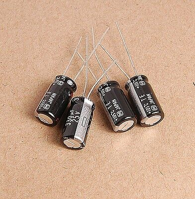 10pcs 330uf 25v Panasonic Electrolytic Capacitors 25v330uf />/>Upgrade 16v330uf