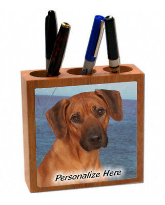 Rhodesian  Ridgeback   (8 )    Personalized  Pencil and Pen Holder