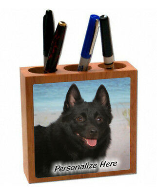 Schipperke   ( 43 )    Personalized  Pencil and Pen Holder