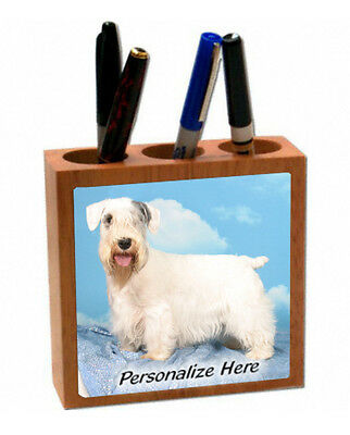 Sealyham  Terrier  ( 7 )  Personalized  Pencil and Pen Holder