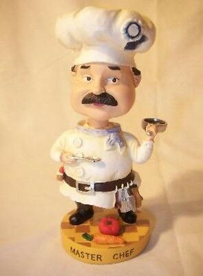 Master Chef Bobblehead Bobble Head Figurine BRAND NEW