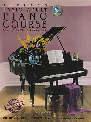 Alfred's Basic Adult Piano Course 1 Book/CD Lesson Book Level One