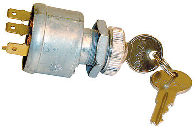EZGO OEM Key Switch (1981+) Gas/Electric Golf Cart (WITH LIGHTS) 4-prong