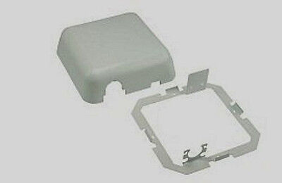 DCI Gray Frame & Cover ONLY for Dental Delivery Junction Box Utility Center