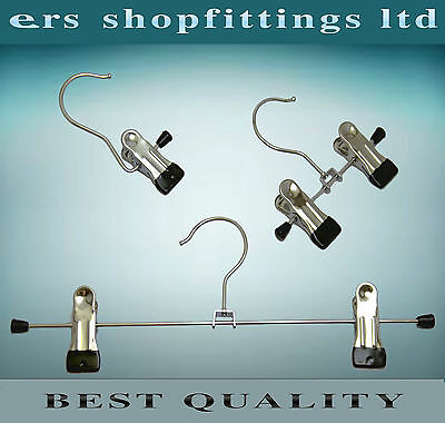 """Trousers Skirt Jeans Metal Clip Hangers """" Non Slip """"  High Quality"""