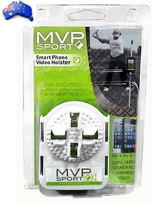 MVP Sport Smartphone Video Holster for Hands Free Video Using a Golf Alignmt Rod